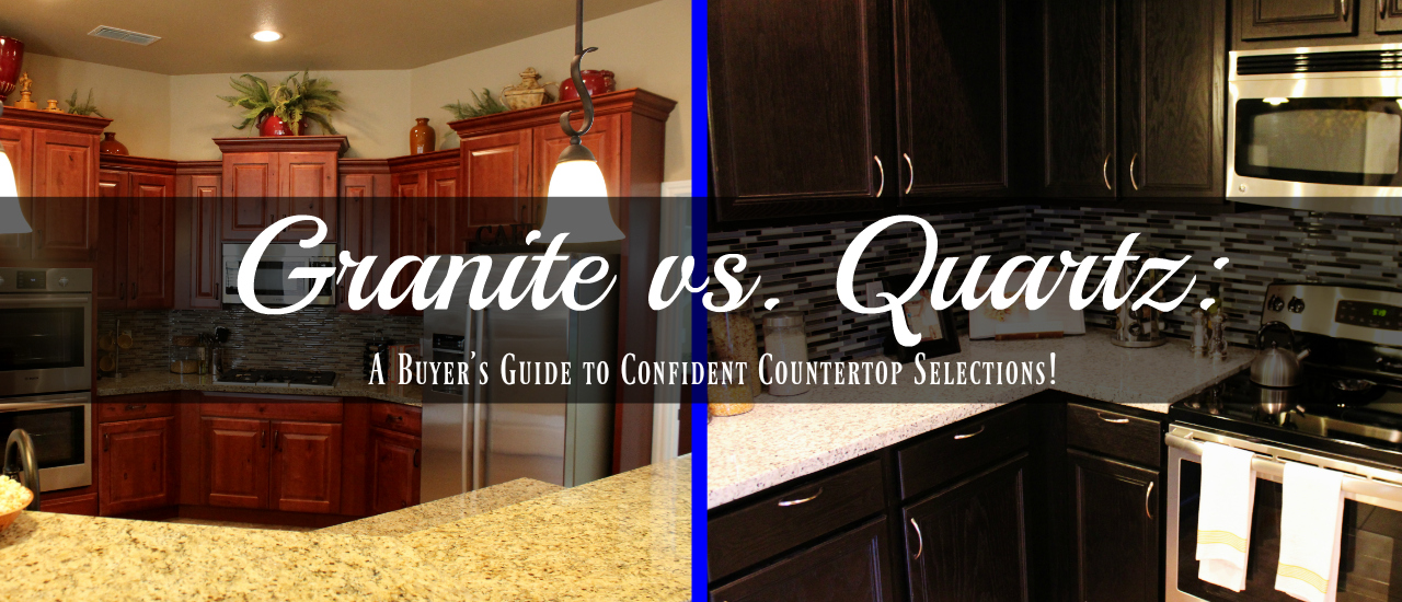 Granite v Quartz image header